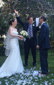 """Kim & Ben's Wedding. """"I now pronounce you man and wife."""""""
