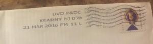 Postmark 321